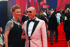 Actress Amalia at Moscow Film Festival Stock Photos