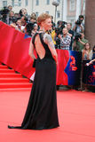 Actress Amalia at Moscow Film Festival Royalty Free Stock Image