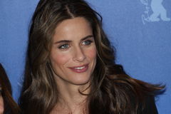 Actress Amanda Peet. BERLIN - FEBRUARY 16: Actress Amanda Peet attends the 'Please Give' Photocall during of the 60th Berlin International Film Festival at the Stock Photos
