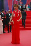 Actress Anastasiya Makeeva at Moscow Film Festival Stock Images