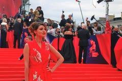 Actress Anastasiya Makeeva at Moscow Film Festival Stock Image