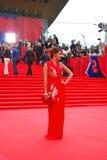 Actress Anastasiya Makeeva at Moscow Film Festival Royalty Free Stock Photography