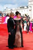 Actress Anastasiya Makeeva at XXXVI Moscow International Film Festival Stock Photos