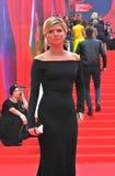 Actress Anastasiya Zadorozhnaya at Moscow Film Festival Stock Images