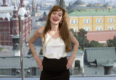 Actress Angelina Jolie Stock Photography