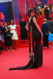 Actress Anna Chipovskaya at Moscow Film Festival Stock Images