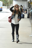 Actress Anna Torv is seen at LAX Stock Photos