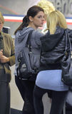 Actress Ashley Greene at LAX airport Stock Images