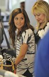 Actress Ashley Tisdale at LAX Stock Image