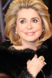 Actress Catherine Deneuve Stock Photo