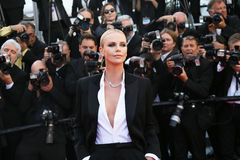 Actress Charlize Theron attends `The Last Face` Royalty Free Stock Photos