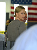 Actress Charlize Theron is seen at LAX Stock Images