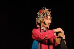The  actress of China opera Royalty Free Stock Photos