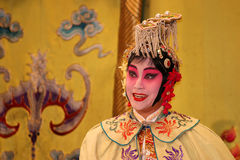 Actress in Chinese Opera Royalty Free Stock Photo