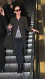 Actress Christina Ricci at LAX airport. Stock Photography