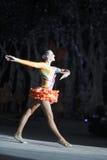 Actress of circus. Of xiamen lingling circus, amoy city, china Stock Photos
