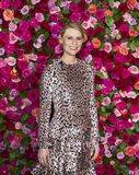 Claire Danes at 2018 Tony Awards. Actress Claire Danes arrives on the red carpet for the 72nd Annual Tony Awards held at Radio City Music Hall in New York City royalty free stock photos