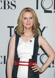 Cynthia Nixon. Actress Cynthia Nixon arrives for the 66th Annual Tony Awards Meet the Nominees Press Reception at the Millenium Broadway Times Square Hotel in Stock Photography
