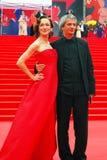 Actress Daria Moroz at Moscow Film Festival Royalty Free Stock Image