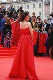 Actress Daria Moroz at Moscow Film Festival Stock Photos