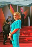 Actress Daria Yekamasova at Moscow Film Festival. Actress Daria Yekamasova at XXXV Moscow International Film Festival red carpet opening ceremony. Taken on 20.06 Stock Photos