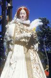 Actress Dressed as Virgin Queen Elizabeth at The Renaissance Faire, Agoura, California Royalty Free Stock Photo