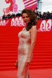 Actress Ekaterina Guseva at XXXVI Moscow Internati Royalty Free Stock Photography