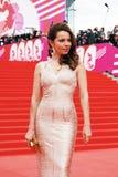 Actress Ekaterina Guseva at XXXVI Moscow International Film Festival Royalty Free Stock Photography
