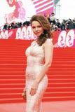 Actress Ekaterina Guseva at XXXVI Moscow International Film Festival Royalty Free Stock Photo