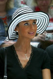Actress Ekaterina Strizhenova stock images