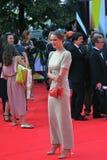 Actress Ekaterina Vilkova at Moscow Film Festival Stock Image