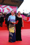 Actress Ekaterina Vilkova at XXXVI Moscow International Film Festival Stock Photos