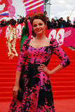 Actress Ekaterina Vulichenko at XXXVI Moscow International Film Festival Royalty Free Stock Image