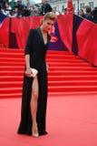 Actress Elena Podkaminskaya at Moscow Film Festival Royalty Free Stock Photo