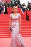 Actress Elena Velikanova at Moscow Film Festival Stock Photo