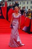 Actress Elena Velikanova at Moscow Film Festival Stock Photography