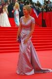 Actress Elena Velikanova at Moscow Film Festival Royalty Free Stock Photo