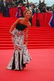 Actress Elena Zakharova at Moscow Film Festival Royalty Free Stock Photography