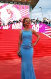 Actress Elena Zakharova at XXXVI Moscow International Film Festival Stock Photo