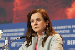 Actress Emily Watson At Berlinale 2018 Stock Photos