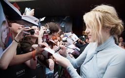 Actress Emma Stone Stock Images