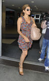 Actress Eva Mendes at LAX . Stock Images
