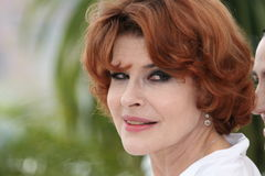 Actress Fanny Ardant Royalty Free Stock Photo