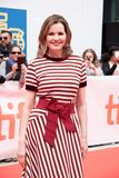 Actress Geena Davis at premiere of `This Changes Everything` at tiff2018 royalty free stock images