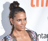 Halle Berry at the `Kings` premiere. Actress Halle Berry at the `Kings` premiere during the 2017 Toronto International Film Festival at Roy Thomson Hall on Royalty Free Stock Images