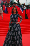 Actress Irina Lachina at Moscow Film Festival Stock Image