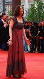 Actress Irina Lachina at XXXVI Moscow International Film Festival Stock Photography