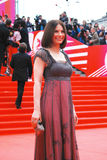 Actress Irina Lachina at XXXVI Moscow International Film Festival Stock Image