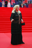 Actress Irina Miroshnichenko at Moscow Film Festival Stock Images