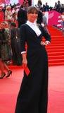 Actress Julia Beretta at XXXVI Moscow International Film Festival Stock Photos